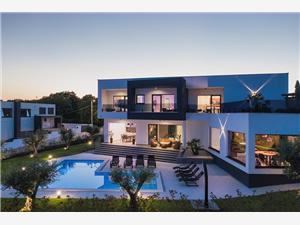 Villa Faveria Krnica (Pula), Superficie 258,00 m2, Hébergement avec piscine, Distance (vol d'oiseau) jusqu'au centre ville 500 m