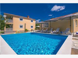 Privat boende med pool Blå Istrien,Boka Nevenka Från 2011 SEK
