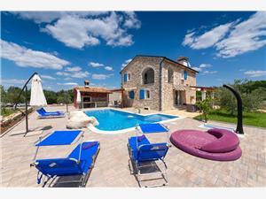 Hiza Gaspari Baderna, Prostor 190,00 m2, Soukromé ubytování s bazénem
