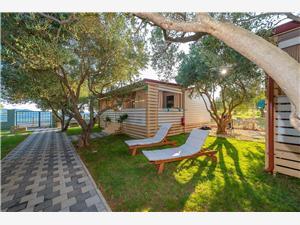 Mobilný dom Pecten 04 Pakostane, Rozloha 30,00 m2, Vzdušná vzdialenosť od mora 25 m, Vzdušná vzdialenosť od centra miesta 700 m
