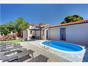 Casa Miriam Stinjan (Pula), Rozloha 70,00 m2, Ubytovanie sbazénom, Vzdušná vzdialenosť od centra miesta 500 m