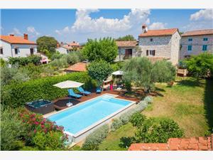Namestitev z bazenom Modra Istra,Rezerviraj Rossa Od 255 €
