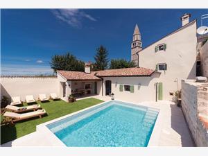 Vakantie huizen Groene Istrië,Reserveren Santina Vanaf 142 €