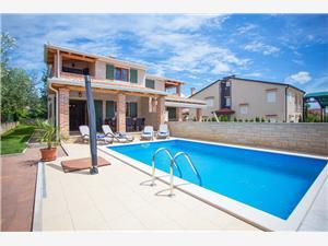 Soukromé ubytování s bazénem Vabriga Porec,Rezervuj Soukromé ubytování s bazénem Vabriga Od 7959 kč