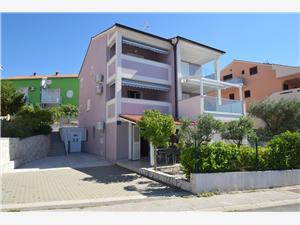 Appartements Marjolovic Njivice - île de Krk, Superficie 40,00 m2, Distance (vol d'oiseau) jusqu'au centre ville 900 m