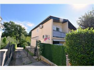 Appartement Sunny 1 Njivice - île de Krk, Superficie 35,00 m2, Distance (vol d'oiseau) jusqu'au centre ville 300 m
