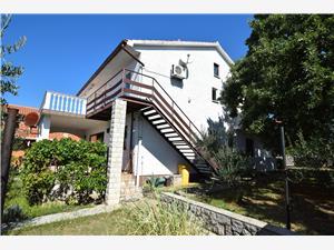Apartamenty Adriana Omisalj - wyspa Krk, Powierzchnia 35,00 m2, Odległość do morze mierzona drogą powietrzną wynosi 150 m