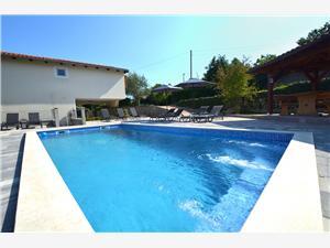 Lägenheter Lovran-Opatija Opatijas riviera, Storlek 60,00 m2, Privat boende med pool