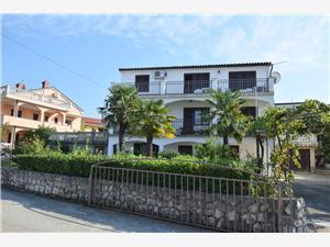 Appartementen Milica Njivice - eiland Krk,Reserveren Appartementen Milica Vanaf 71 €