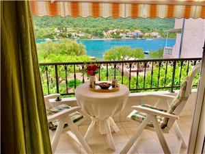 Apartmán Nevenka Grebastica, Prostor 50,00 m2, Vzdušní vzdálenost od moře 10 m, Vzdušní vzdálenost od centra místa 500 m