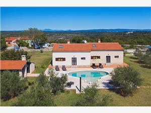 Vakantie huizen Blauw Istrië,Reserveren Boro Vanaf 364 €