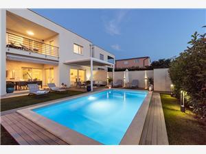 Villa Ortensia Novigrad, Kwadratuur 161,00 m2, Accommodatie met zwembad