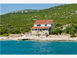Domek na odludziu Wyspy Dalmacji środkowej,Rezerwuj Sunshine Od 521 zl