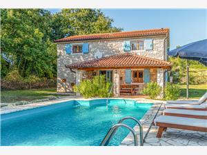 Villa Andigona Istrien, Haus in Alleinlage, Größe 300,00 m2, Privatunterkunft mit Pool