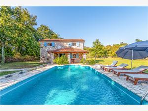 Villa Andigona Istrie, Maison isolée, Superficie 300,00 m2, Hébergement avec piscine