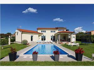 Villa Landa Kastelir, квадратура 152,00 m2, размещение с бассейном