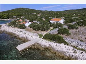 Avlägsen stuga Norra Dalmatien öar,Boka Nicky Från 983 SEK