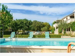 Appartementen Vesna Vodice, Kwadratuur 45,00 m2, Accommodatie met zwembad