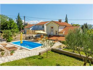 Willa DRAGO Novi Vinodolski (Crikvenica), Powierzchnia 130,00 m2, Kwatery z basenem, Odległość do morze mierzona drogą powietrzną wynosi 100 m