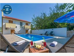 Kuća za odmor Marijan Dalmacija, Kvadratura 150,00 m2, Smještaj s bazenom