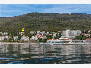 Lägenheter Franco Selce (Crikvenica), Storlek 31,00 m2, Luftavståndet till centrum 400 m