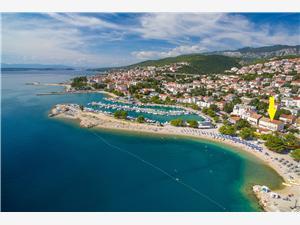 Beachfront accommodation Rijeka and Crikvenica riviera,Book Seaside From 88 €