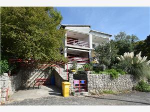 Apartman Cvenkica Omisalj - Krk sziget, Méret 50,00 m2, Légvonalbeli távolság 150 m