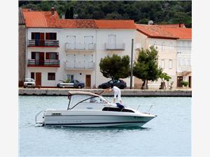 Lägenheter Milo Kukljica, Storlek 45,00 m2, Luftavstånd till havet 70 m, Luftavståndet till centrum 100 m