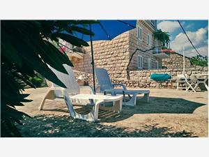 Appartement Silvana Lumbarda - île de Korcula, Superficie 28,00 m2, Distance (vol d'oiseau) jusque la mer 10 m, Distance (vol d'oiseau) jusqu'au centre ville 150 m