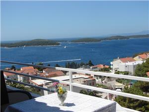 Appartements et Chambres Špiko Hvar - île de Hvar, Superficie 20,00 m2, Distance (vol d'oiseau) jusqu'au centre ville 850 m