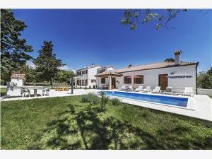 Kuća za odmor Villa Katuri Labin, Kvadratura 254,00 m2, Smještaj s bazenom, Zračna udaljenost od centra mjesta 700 m