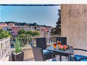 Apartamenty SKYGARDEN HOUSE Mali Losinj - wyspa Losinj, Powierzchnia 50,00 m2, Odległość od centrum miasta, przez powietrze jest mierzona 150 m