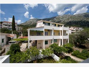 Appartementen Ružica Makarska Riviera, Kwadratuur 47,00 m2, Lucht afstand tot de zee 50 m, Lucht afstand naar het centrum 50 m