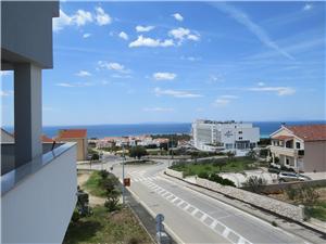 Appartement JAKOV Novalja - île de Pag, Superficie 55,00 m2, Distance (vol d'oiseau) jusqu'au centre ville 800 m