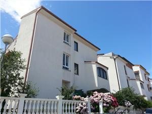 Apartmanok MERI , Méret 58,00 m2, Légvonalbeli távolság 150 m, Központtól való távolság 700 m
