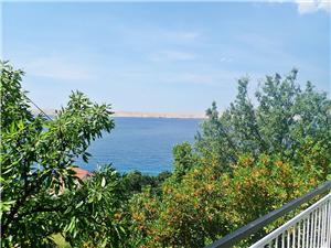 Appartement NINO-near quiet and isolated beach Riviera de Zadar, Superficie 100,00 m2, Distance (vol d'oiseau) jusque la mer 50 m, Distance (vol d'oiseau) jusqu'au centre ville 500 m