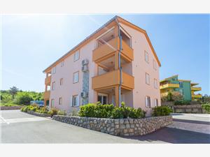 Appartement MIA & LEA Klimno - île de Krk, Superficie 60,00 m2, Distance (vol d'oiseau) jusqu'au centre ville 800 m