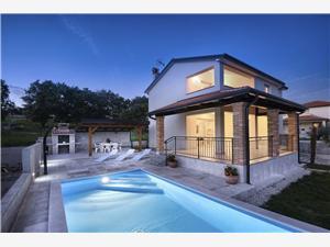 Hébergement avec piscine L'Istrie bleue,Réservez 1 De 314 €