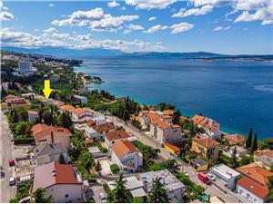 Beachfront accommodation Rijeka and Crikvenica riviera,Book MARIPOSA From 58 €