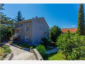 Lägenheter Robić Selce (Crikvenica), Storlek 55,00 m2, Luftavståndet till centrum 300 m