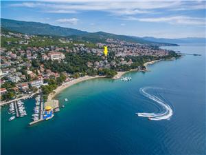 Appartementen Vilma Crikvenica, Kwadratuur 50,00 m2, Lucht afstand tot de zee 150 m, Lucht afstand naar het centrum 700 m