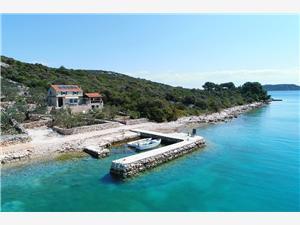 Kuća za odmor Corleone Tkon - otok Pašman, Kamena kuća, Kuća na osami, Kvadratura 62,00 m2