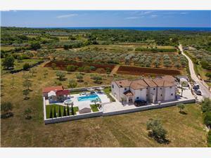 размещение с бассейном зеленая Истра,Резервирай Paradiso От 576 €