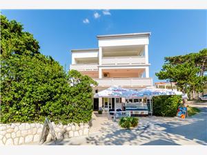 Apartmaji Ruza-Rajska beach Lopar - otok Rab, Kvadratura 90,00 m2, Oddaljenost od morja 50 m