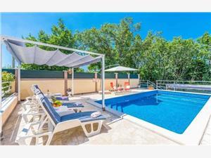 Vila Dina Zelená Istria, Rozloha 110,00 m2, Ubytovanie sbazénom