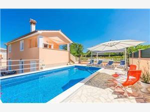 вилла Dina Хорватия, квадратура 110,00 m2, размещение с бассейном