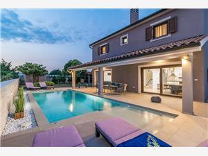 Villa Roma Pula, Prostor 160,00 m2, Soukromé ubytování s bazénem
