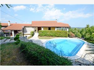 Casa Brgud Riviera d'Opatija, Casa di pietra, Dimensioni 280,00 m2, Alloggi con piscina