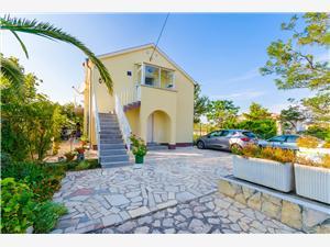 Apartment Ankica Lopar - island Rab, Size 62.00 m2, Airline distance to town centre 350 m