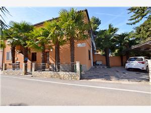 Apartmán Milan Modrá Istria, Rozloha 36,00 m2, Vzdušná vzdialenosť od mora 70 m, Vzdušná vzdialenosť od centra miesta 10 m